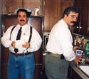 I don't know who he was pouring the Pepsi for....on Xmas Eve he ALWAYS had the PUNCH!